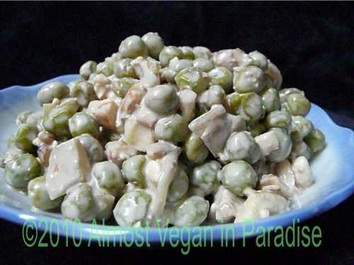 Frozen Pea Salad, With or Without Feta Cheese