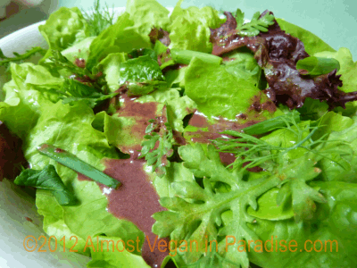 vegan cherry vinaigrette