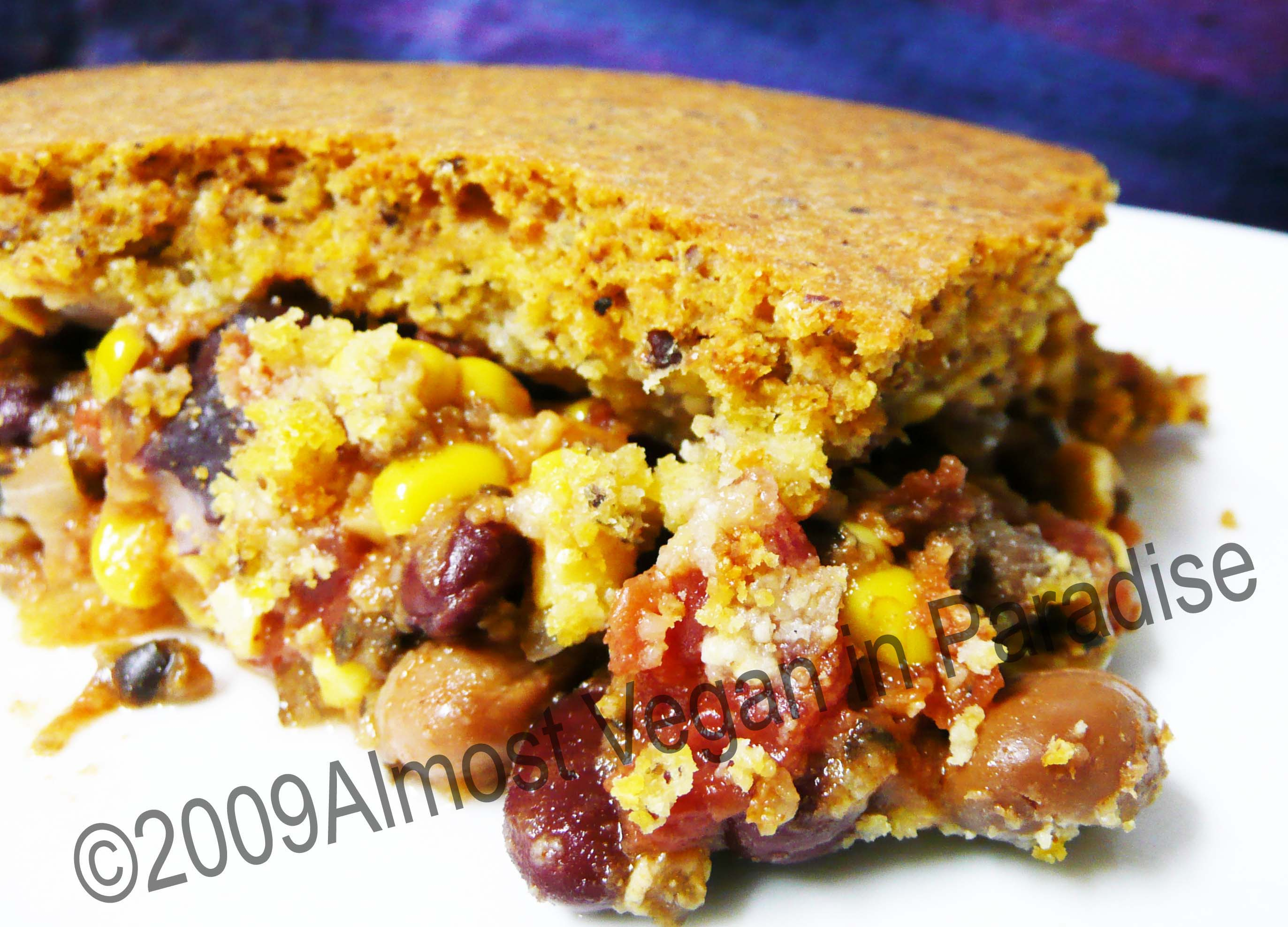 tamale pie | Almost Vegan In Paradise