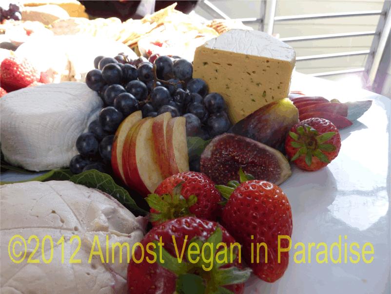 vegan brie and cream cheese